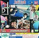 ルパン三世 デスクトップコレクション2 フィギュア アニメ グッズ ガチャ バンダイ(全5種フルコンプセット)