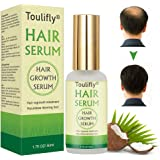 Hair Growth Serum, Hair Loss and Hair Thinning Treatment, Stops Hair Loss, Natural Herbal Essence,Thinning, Balding, Repairs