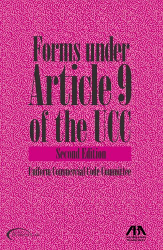 Download Forms Under Article 9 of the UCC 1604423072