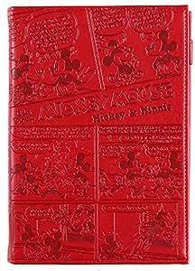 デルフィーノ 2016年手帳 Disney ミッキー&ミニー コミック  【2015年12月始まり】 レッド B6サイズ DZ-76854