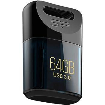 シリコンパワー USBメモリ 64GB USB3.0 超小型 防水 防塵 耐衝撃 Mac対応 永久保証 Jewel J06 SP064GBUF3J06V1D
