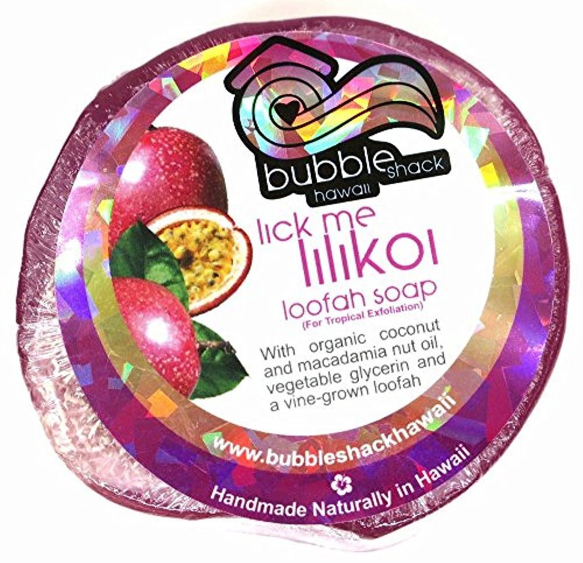 不忠巻き取り収束ハワイアン雑貨/ハワイ 雑貨【バブルシャック】Bubble Shack Hawaii ルーファーソープ(リックミーリリコイ) 【お土産】
