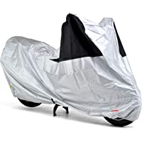 【Amazon.co.jp 限定】 デイトナ バイクカバー 3L シルバー 防水 風飛び防止 前後が分かる配色 9797…