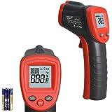 Wintact IR 温度計 赤外線 温度 ガン -50℃-380℃ (レーザーが照射しない 赤い線が出ない) デジタル 赤外線 ピロメータ バックライト付き 非接触 温度 ガン キッチン と 料理用 (人のためではない)