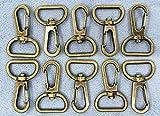 卸●ナスカン F 網ナスカン 縦41mm 尾内径20mm 50個入り バッグに 持ち手 丈夫 真鍮古美 アミ