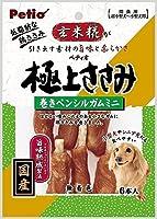 (まとめ買い)ペティオ 極上ささみ 巻きペンシルガムミニ 6本入 【×10】