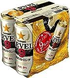 【アルコール9%の新ジャンル】サッポロ LEVEL9贅沢ストロング 500ml×6本