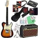Compact Guitar コンパクトギター CTL-60s (3TS/R) & VOXアンプ ミニサイズ・エレキギター入門20点セット