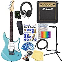 YAMAHA ヤマハ エレキギター PACIFICA 112V SOB マーシャルアンプ付 初心者 入門 15点セット