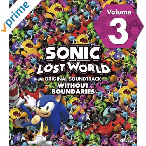 SONIC LOST WORLD ORIGINAL SOUNDTRACK WITHOUT BOUNDARIES Vol. 3