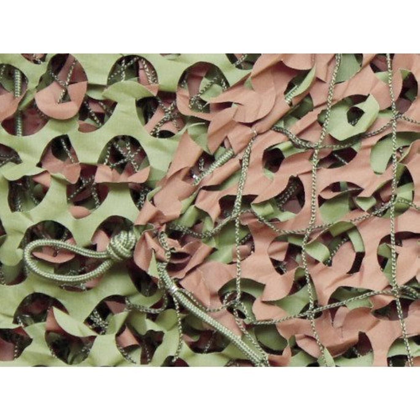 アラーム援助木製トラスコ中山 CAMO ベーシック レギュラーXミリタリー グリーン&ブラウン 1.8mX3m WM12