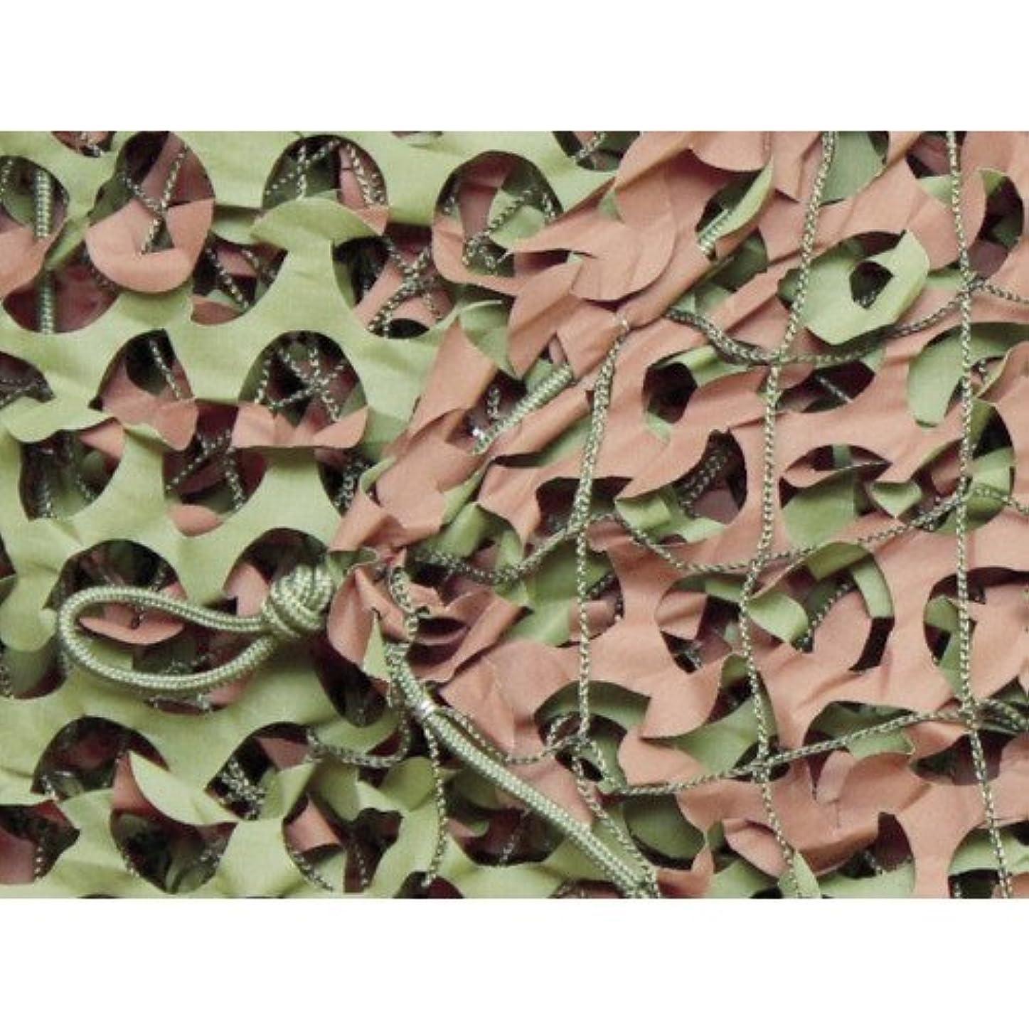 コンペ突然の精度トラスコ中山 CAMO ベーシック レギュラーXミリタリー グリーン&ブラウン 1.8mX3m WM12