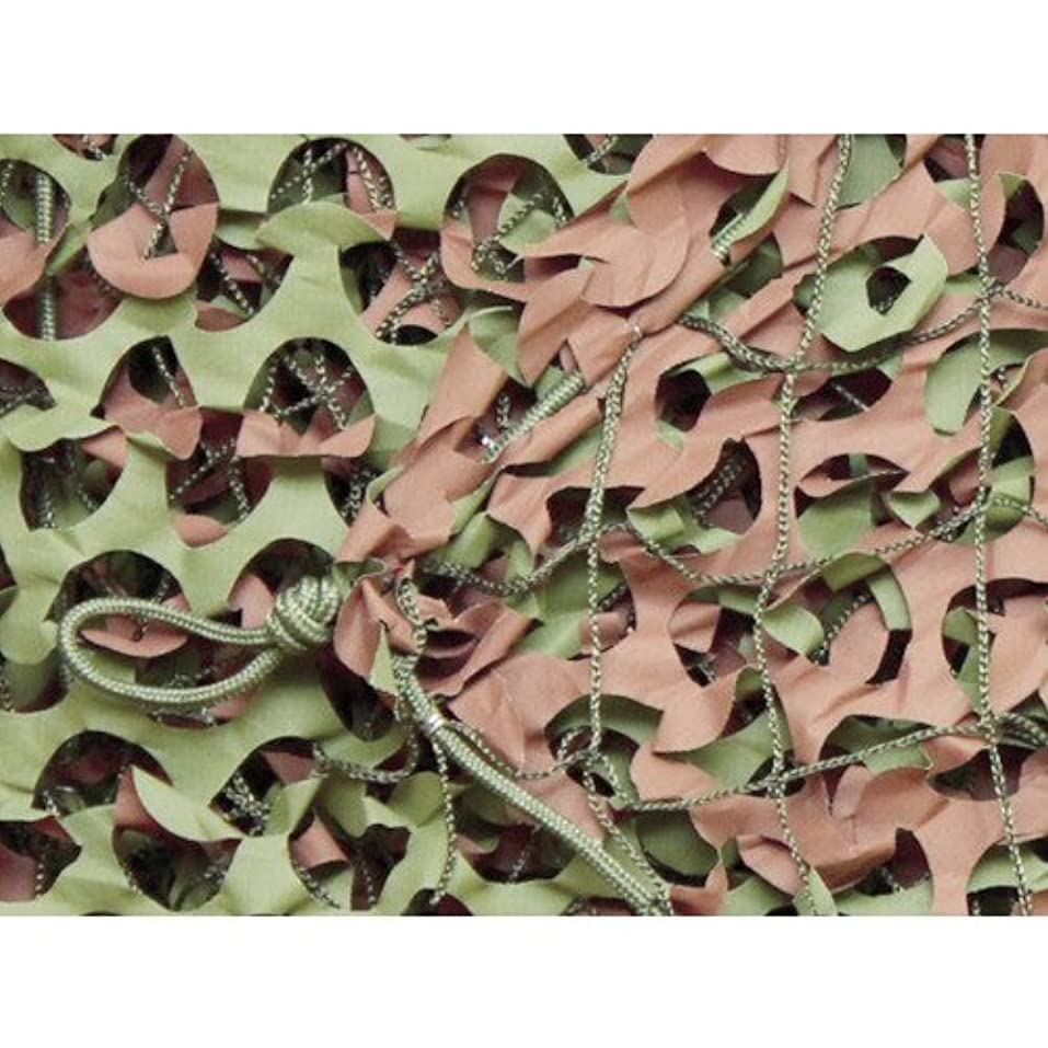 ニッケル風味六月トラスコ中山 CAMO ベーシック レギュラーXミリタリー グリーン&ブラウン 1.8mX3m WM12