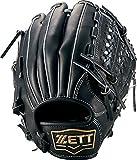 ZETT(ゼット) 少年野球 硬式 オールラウンド グラブ(グローブ) ネオステイタス (左投げ用) BPGB25620 ブラック