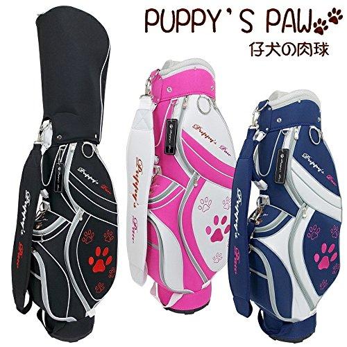 PUPPY'S PAW 仔犬の肉球 レディース キャディバッグ 7.5型