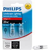 Philips 417204 Landscape Lighting 20-watt T3 12-Volt Bi-pin Base Light Bulb