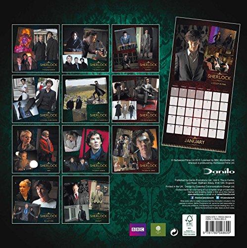 『The Official Sherlock 2016 Square Calendar』の1枚目の画像