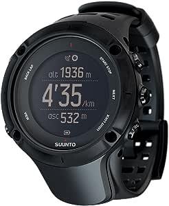 スント(SUUNTO) 腕時計 アンビット3 ピーク ブラック 10気圧防水 GPS 気圧/高度/方位/速度/距離計測 [日本正規品 メーカー保証2年] SS020677000
