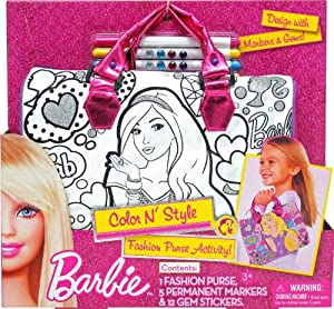 Tara Toy Barbie(バービー) Color N Style Handbag ドール 人形 フィギュア(並行輸入)