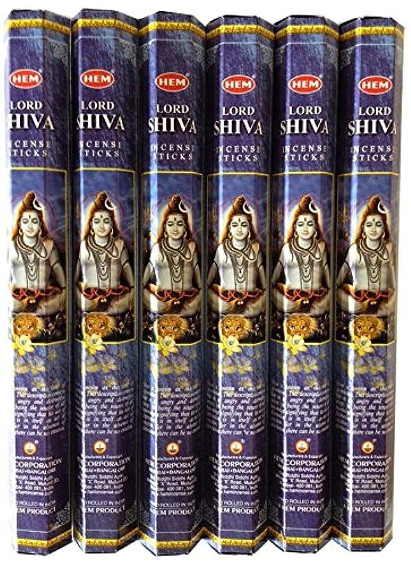 ドック狭い鎮静剤HEM シヴァ 6個セット