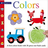Alphaprints Colors Flash Card Book: With 20 Press-Out Flash Cards (Alphaprints: A First Color Book)