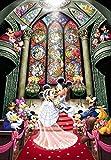 1000ピース ジグソーパズル ディズニー ファンタジー セレブレーション【ステンドアート】(51.2x73.7cm)