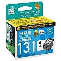 エコリカ リサイクルインクカートリッジ HP ブラック hp131(C8765HJ) ECI-HP131B-V