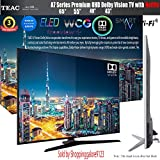 "TEAC 43"" Inch 4K UHD Smart Netflix TV ELED WCG HDR Dolby Vision Made in Europe with 3 Year Warranty"