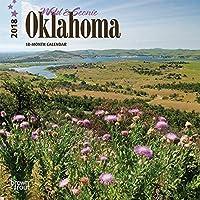 Wild & Scenic Oklahoma 2018 Small Wall Calendar [並行輸入品]