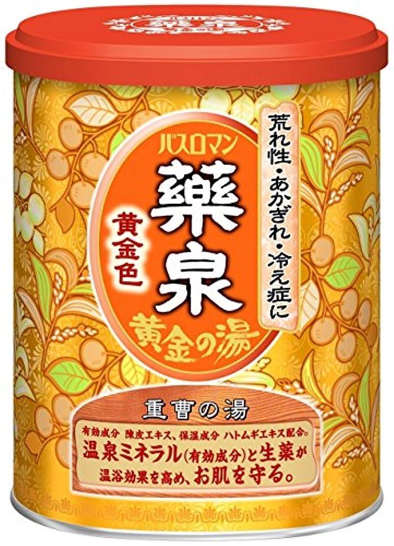 慰めゴミ箱を空にする関連付ける薬泉バスロマン黄金色650g