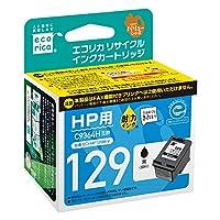 エコリカ リサイクルインクカートリッジ HP ブラック hp129(C9364HJ) ECI-HP129B-V