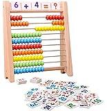 「100玉そろばん+数字カード」セット 百玉そろばん 子供 そろばん 数字 100 算数 おもちゃ 知育・学習玩具 男の…