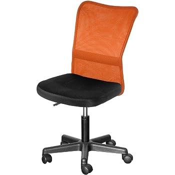 OSJ オフィスチェア メッシュチェア パソコンチェア 7色(オレンジ)