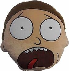 (リック・アンド・モーティ) Rick And Morty オフィシャル商品 キャラクター クッション 座布団