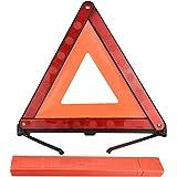 COOLBOTANG 三角停止表示板 車緊急対応用品 三角停止板 三角反射板 折りたたみ式 事故 緊急用 昼夜兼用 三角停止 三角版 三角反射板 コンパクト収納可能 専用収納ケース付き