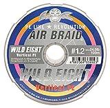 Fishing Fighters(フィッシングファイターズ) ライン AIR BRAID ワイルドエイト バーティカル PE(300m) FF-ABWV300-1.2 #1.2