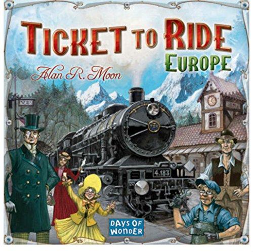 チケットtoライドヨーロッパボードゲーム