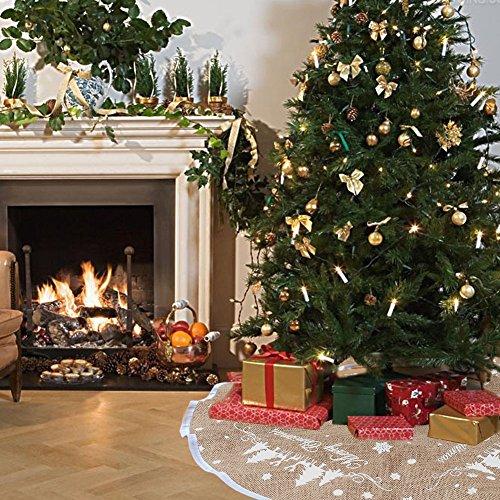 Seacanクリスマスツリースカート サンタクロース ツリー...