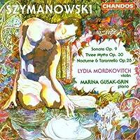 Szymanowski Violin Works