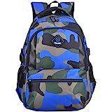 MITOWERMI Kids Backpacks for Boys Girls Elementary School Bags Bookbags Casual Camouflage Rucksack
