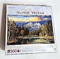 """""""秋Repose """" by Alpineビスタ500-pieceジグソーパズル"""