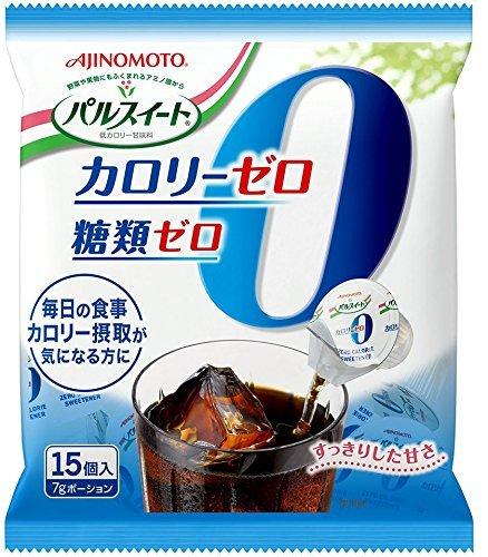 味の素 パルスイートカロリーゼロ 液体ポーション(15個入)×20袋