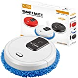 POPETPOP Robot Vacuum Cleaner Multifunctional Household Vacuum Cleaners and Mop Mopping Sweeper Machine Good for Pet Hair, Ca