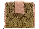 (グッチ) GUCCI 財布 二つ折り GGキャンバス レザー 346056 アウトレット ブランド [並行輸入品]