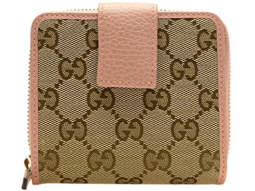 hot sales 52e2d 32cfc グッチ) GUCCI 財布二つ折りGGキャンバスレザー346056 ...