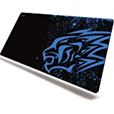 Blue Leopard Thick Gaming Mouse Pad-EXCO 700 * 300mm Anime Mouse Mat,Multiple Pattern Selection,Non-Slip Soft Rubber Computer