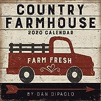 Country Farmhouse 2020 Wall Calendar