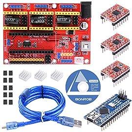 仕様:  3軸ステッピングモータドライバ マイクロ駆動レーザー彫刻機と3軸CNC彫刻機に対応します。 2A電流出力は2相4線式ステッピングモータを制御できます。 デジタルIOインターフェイスは端末などのモジュールに簡単に接続できます。 I2Cインターフェイスは、I2C LCDまたはほかのI2Cモジュールに接続できます。 電源DC5Vインターフェイス、7.5〜12V電圧入力。 GRBLやBenboxなどのPCソフトウェアと互換性があります。 Arduino Nanoで共同作業します。 レーザー彫刻...