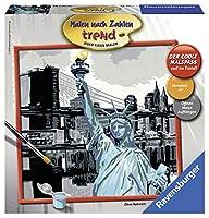 New York City Malen nach Zahlen quadratisch/Schmal/Einsteigerset