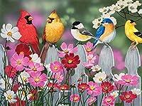 Songbirdsとコスモス500pcジグソーパズル